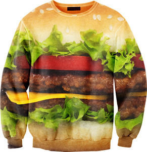 Mr. gugu & miss go — hamburger sweater