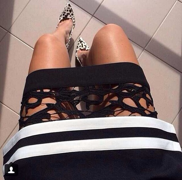 crochet cut out white crop tops summer skirt little black dress white dress black white strips