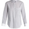 Chiara contrast-cuff cotton-poplin shirt