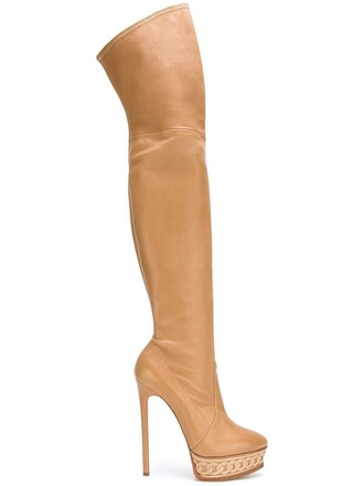 heel boots nude shoes
