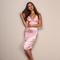 Luxur satin bodycon dress