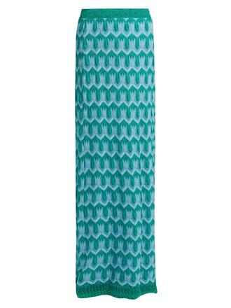skirt maxi skirt maxi knit crochet green