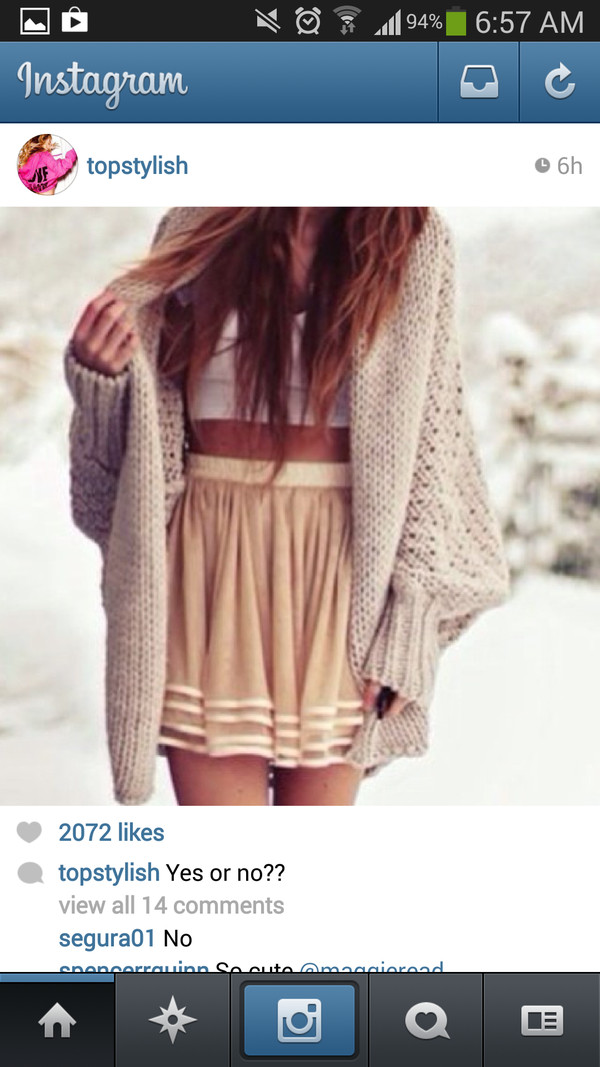 skirt cute sweaters