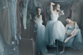 dress ballet ball gown dress tulle dress