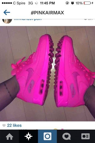 shoes airmax pink girly