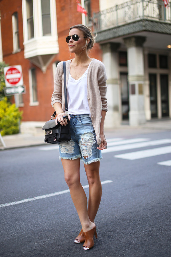 BLANKNYC Shredded Denim Boyfriend Shorts | Nordstrom