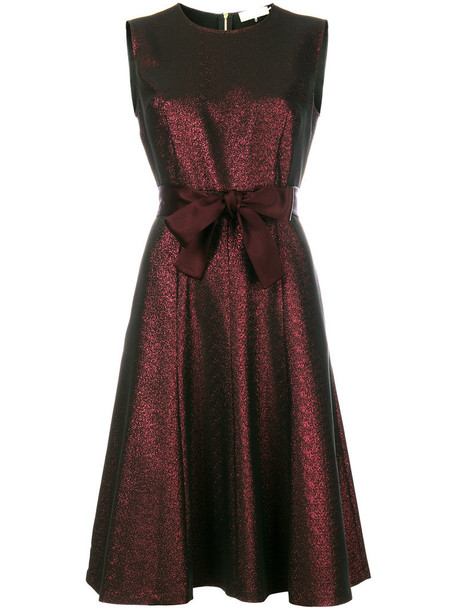 L'Autre Chose dress belted dress women cotton red