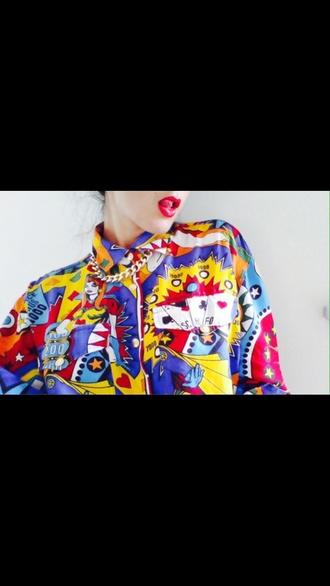 shirt colourful