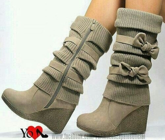 shoes grey boots