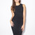 Black Lace Zip Dress - PAVON NYC