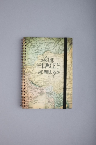 map world notebook travel new years resolution phone cover home accessory world travelling jewels