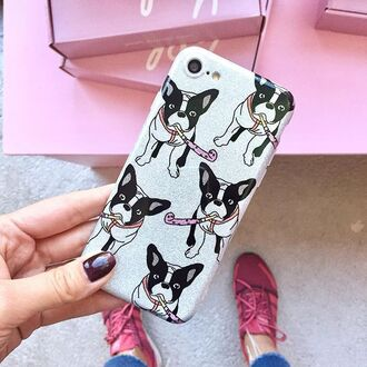phone cover yeah bunny frenchie dog frenchieglitter glitter