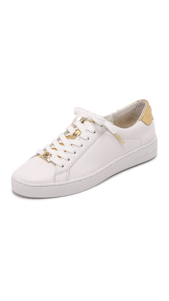 pale sneakers gold shoes