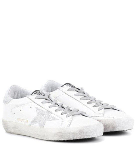 GOLDEN GOOSE DELUXE BRAND sneakers leather white shoes