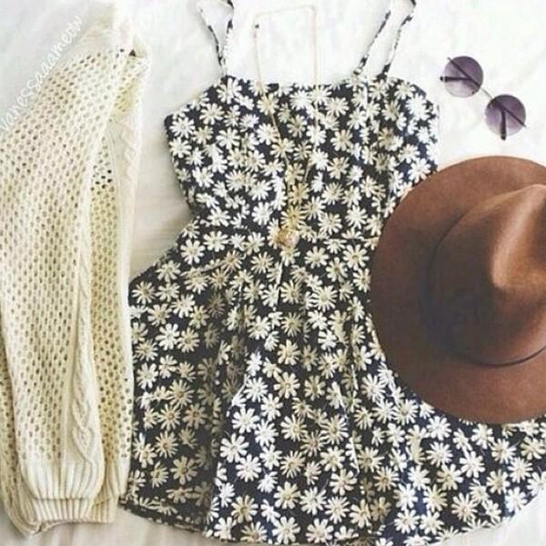 summer dress sunflower summer outfits daisy skirt dress