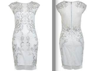 dress black dress open back backless backless dress embellished dress see through dress