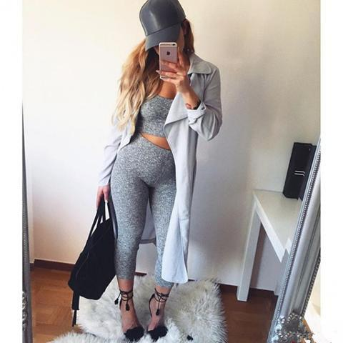 SLING TWO-PIECE LONG PANTS