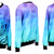 Womens Girls Galaxy Forest Digital Printed Jumper Sweater Crew Neck Sweatshirt | eBay