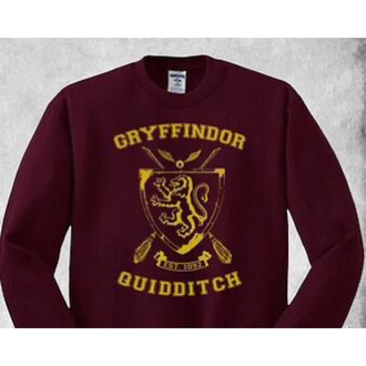 sweater harry potter griffydor