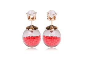 jewels front to back earrings earrings double pearl stud earring studs