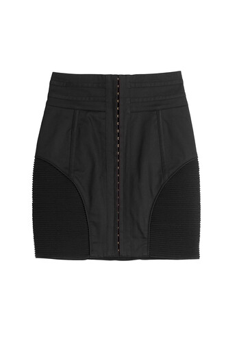 skirt mini skirt mini cotton black