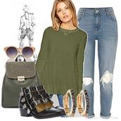 sweater,girls night,shopping trip,weekend,ankle boots,jeans,backpaks,earings,sunglasses,sports luxe,sweaters everywhere