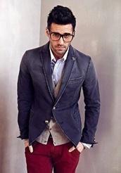 jacket,denim jacket,blazer,baby blue,mens jacket