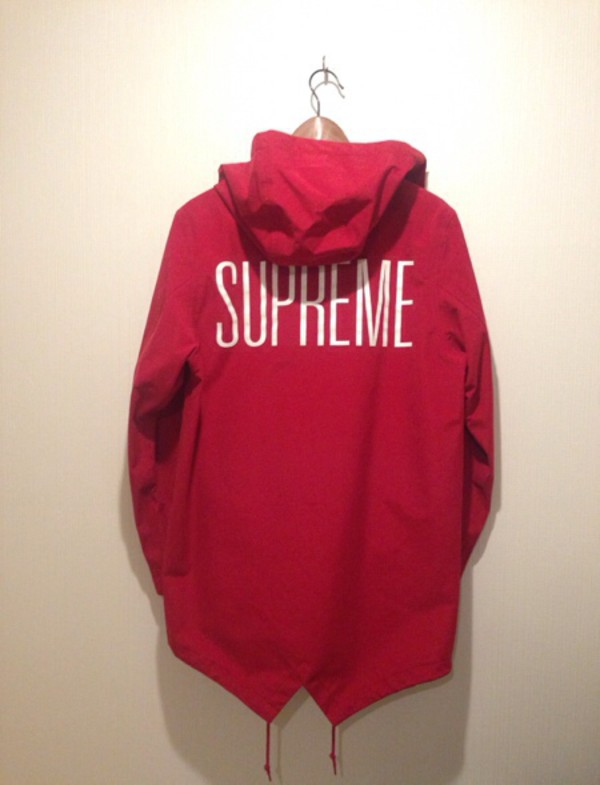 Red Supreme Sweater - Shop for Red Supreme Sweater on Wheretoget