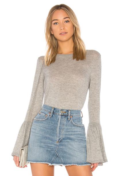 Autumn Cashmere sweater ruffle