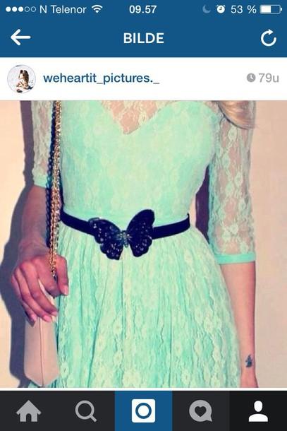 dress summer dress blue