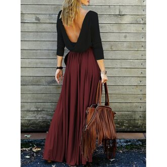 dress rose wholesale black fashion trendy style brown girl chic streetwear boho summer casual