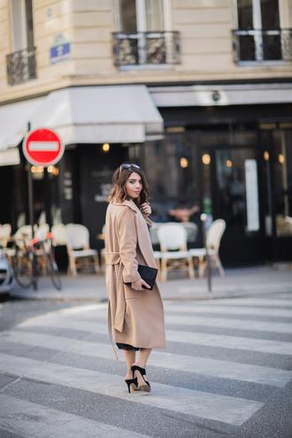 five five fabulous blogger coat skirt shoes bag top belt