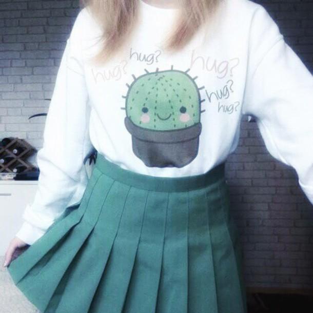 blouse cactus grunge love sweet t shirt graphic tee