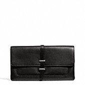 Coach :: LEGACY HASP CLUTCH IN LEATHER