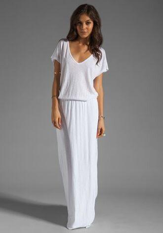 dress white dress maxi dress baggy dress modest dress