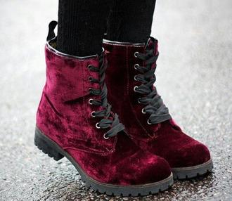 boots drmartens velvet