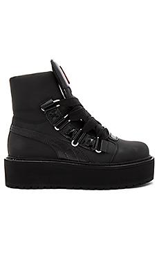Fenty by Puma Sneaker Boot in Black from Revolve.com 8fecf040a