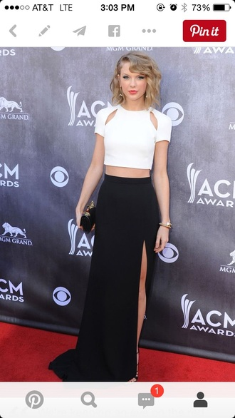 dress taylor swift crop tops