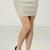 Holiday Net Threaded Shimmed Mini Skirt