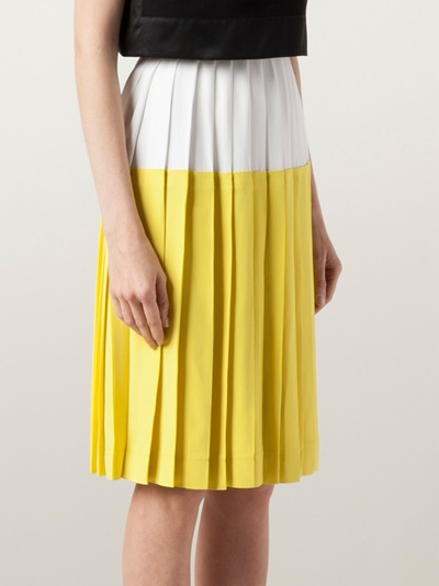 Cedric Charlier Sunshine Skirt - Rtw Charleston - Farfetch.com