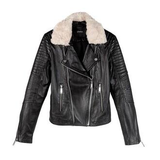 jacket leather jacket leather aviator jacket