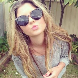 sunglasses round sunglasses tumblr summer duck face