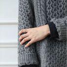 heavy knit jumper