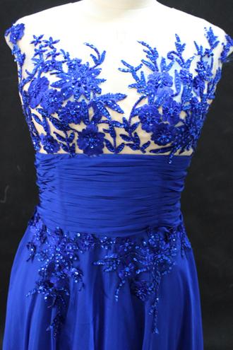 dress evening dress blue shoulder sequined evening dress elegant evening dress discount evening dresses elegant evening gown blue evening dresses royal blue dress royal blue prom dress