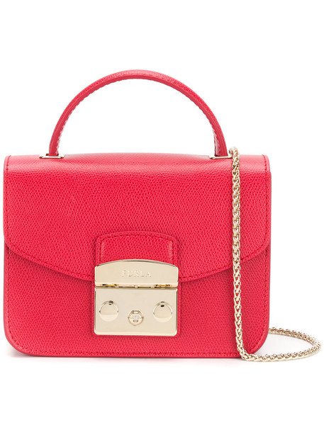 Furla mini women bag mini bag leather red