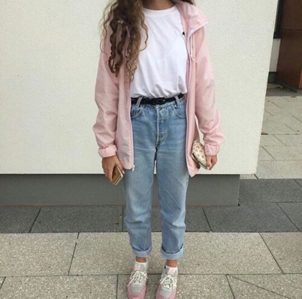 Pants: jeans, jacket, shirt, sweater, coat, belt, shoes, socks ...