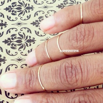 jewels middle ring slim stacking rings stackable rings stacked rings knuckle ring the little finger ring rings for women womens rings the middle