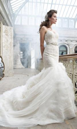 Lazaro 3201, $4,300 Size: 6 | Used Wedding Dresses