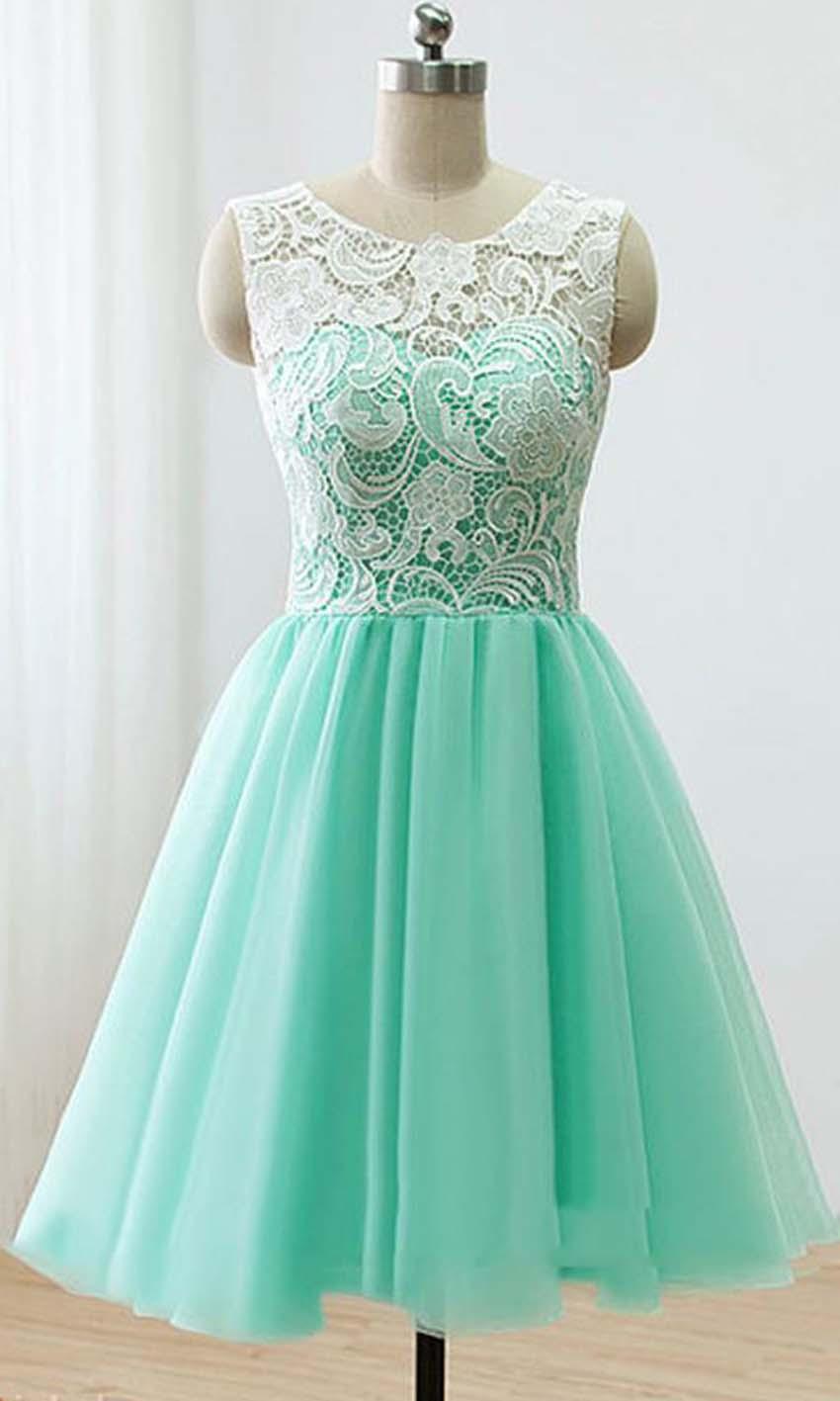 Nice White Party Dresses 2014 Embellishment - All Wedding Dresses ...