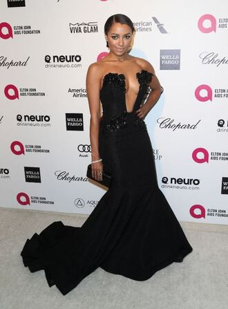 dress gown kat graham bustier dress red carpet dress